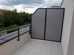 Separation balcon
