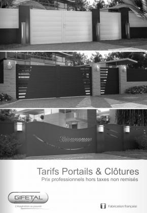Tarifs-portails